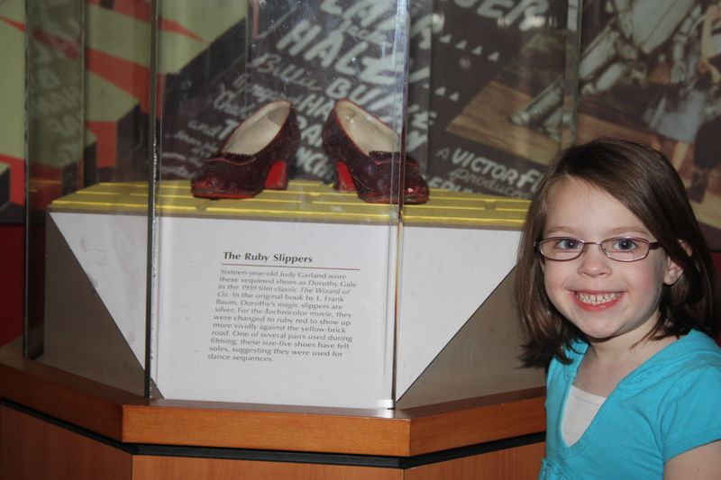 With dorothy shoes