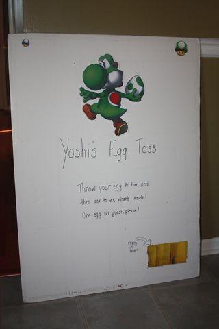 Yoshi toss
