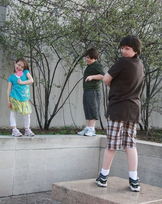 Museum trio
